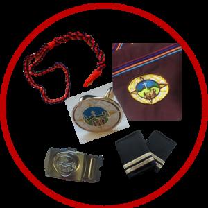 Pañolines y complementos de uniforme