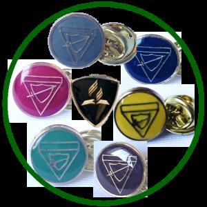 Botones y Pins de uniforme